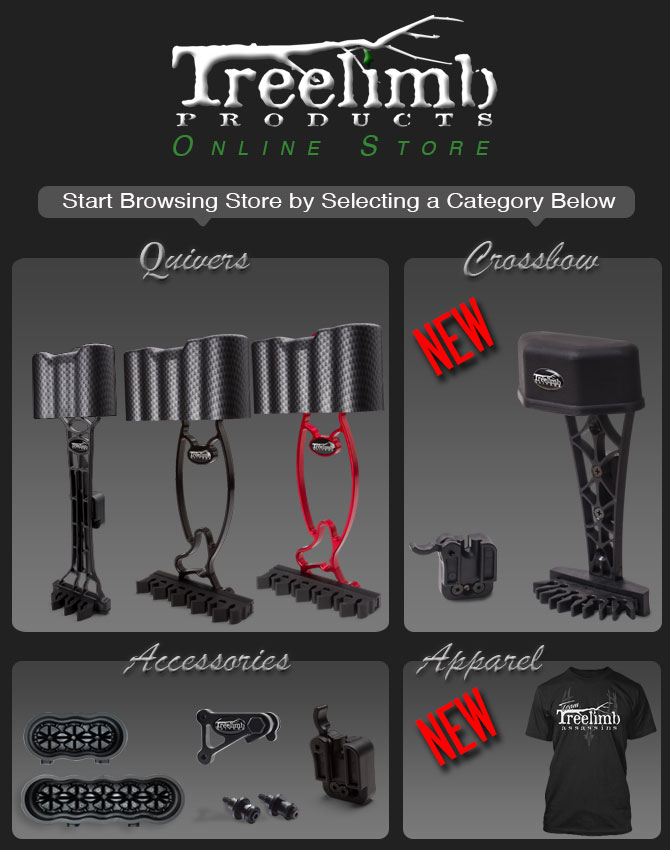 View Treelimb Products Quivers and Accessories